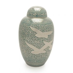 Going Home Classic Metal Urn