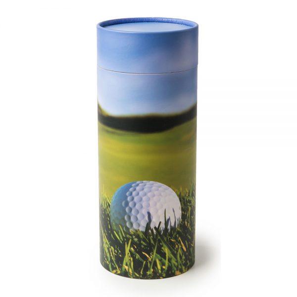 Golfer Scattering Cylinder