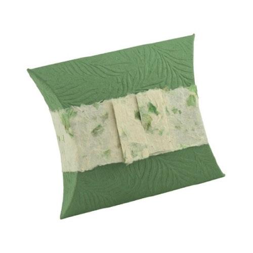 Journey Paper Urn - Fern Green