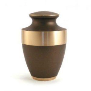Rustic Bronze Urn