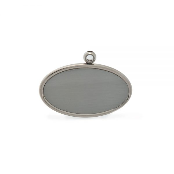 Pewter Oval Urn Pendant