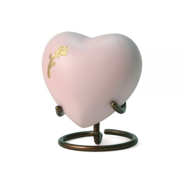 Aria Rose Heart Keepsake