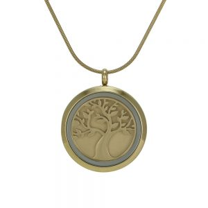 J5001 Bronze Round Hinged Tree