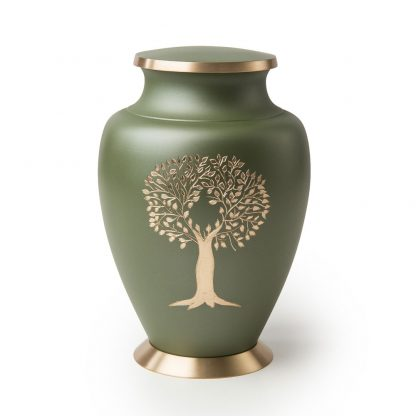 Aria Tree of Life Metal Urn
