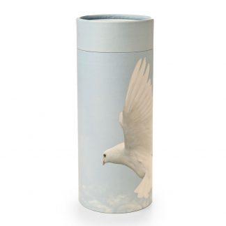Ascending Dove Scattering Cylinder