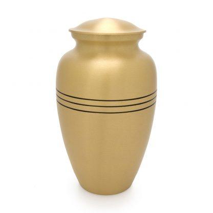 Classic Bronze Metal Urn