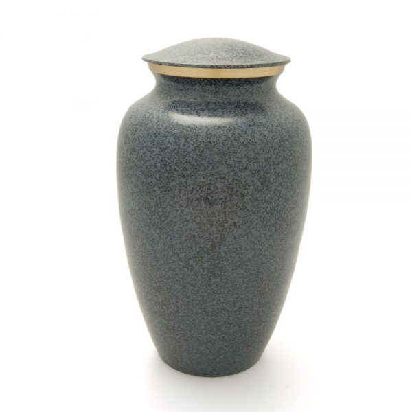 Granite Blue Mausoleum Metal Urn