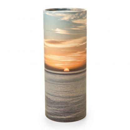 Ocean Sunset Scattering Cylinder