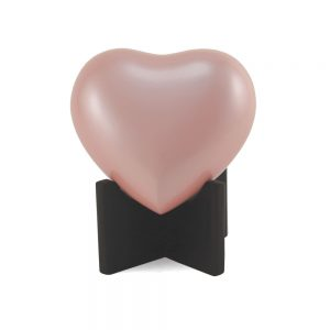 Arielle Heart Keepsake Urn Pink