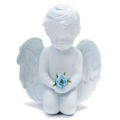 Blue Ceramic Angel