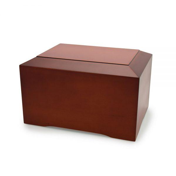 Cinnamon Wood Urn