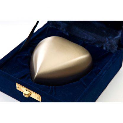 Classic Bronze Heart Keepsake