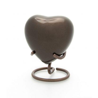 Classic Bronze Heart Stand