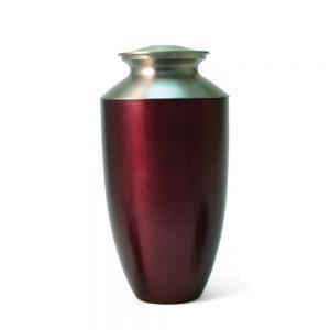 Monterey Ruby Metal Urn