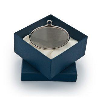 Pewter Oval Urn Pendant