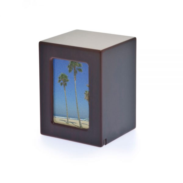 Photo Cherry Keepsake Wood Laminate Urn