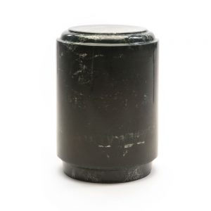 Round Core Marble Urn Green