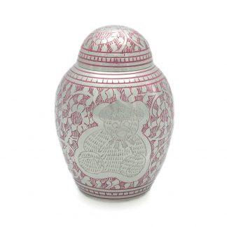Pink Teddybear Urn