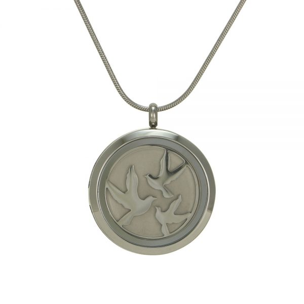 Stainless Cremation Jewelry