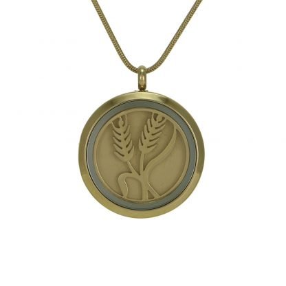 Gold Plated Cremation Jewelry
